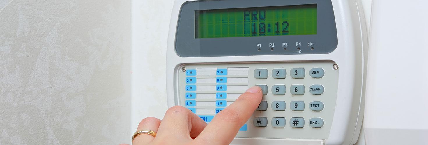Alarm System Code Pad Input pin