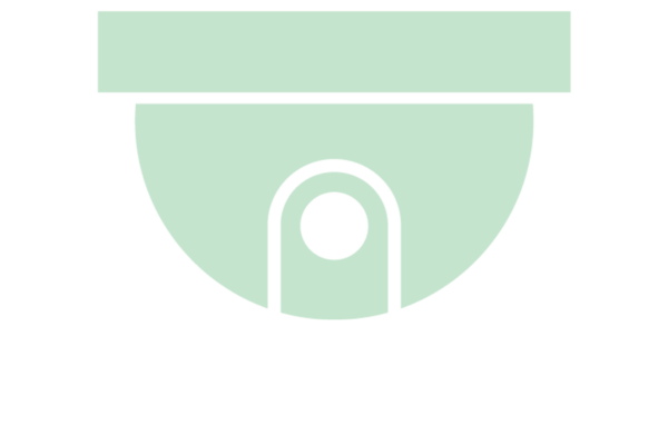 green CCTV icon front facing