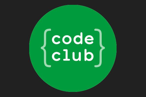 Code Club Logo With Black Background