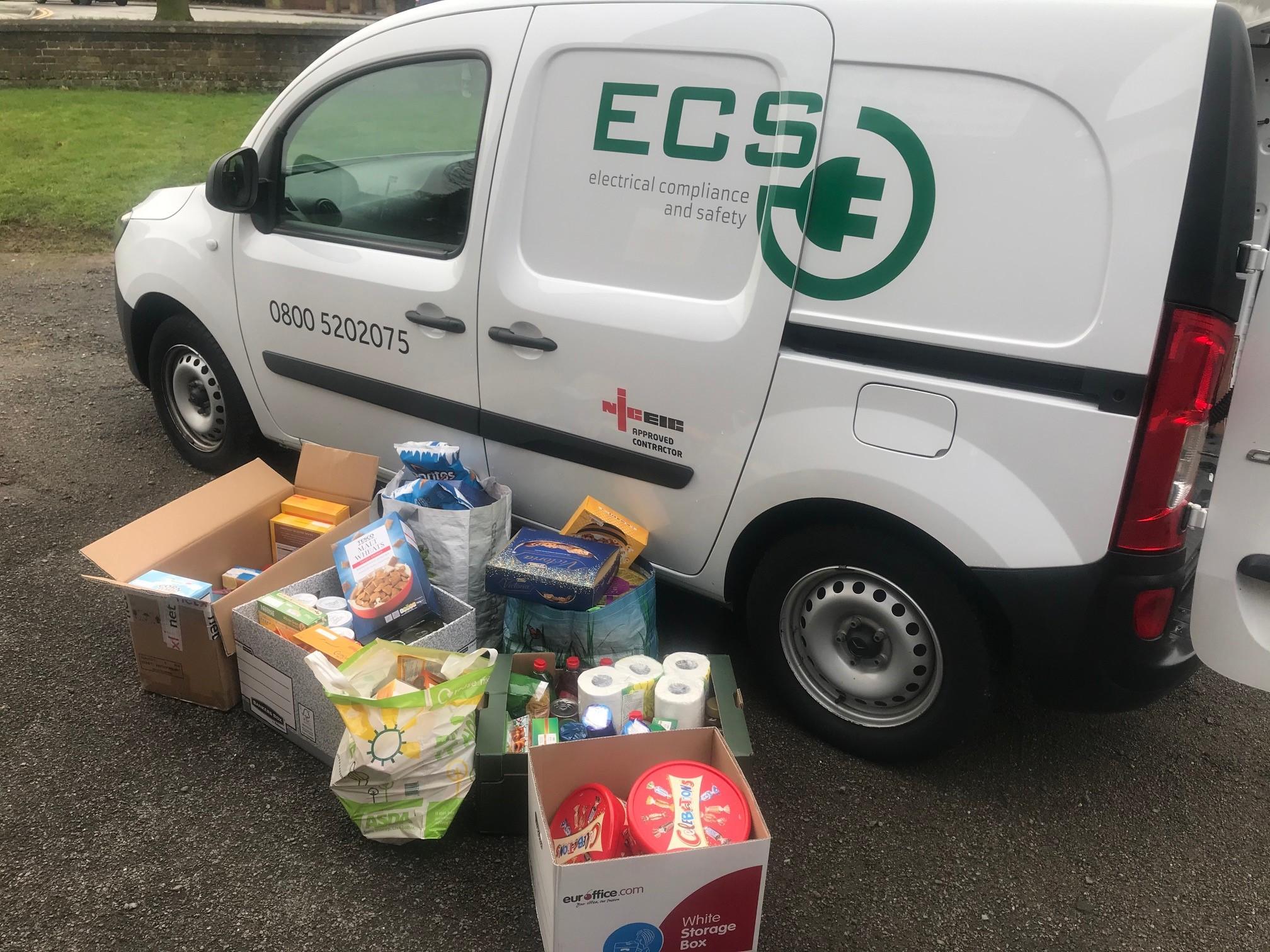 ECS Van Foodbank